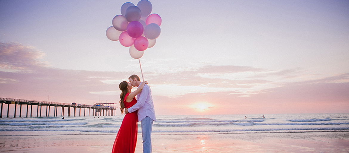 Engagement Photo on the Beach