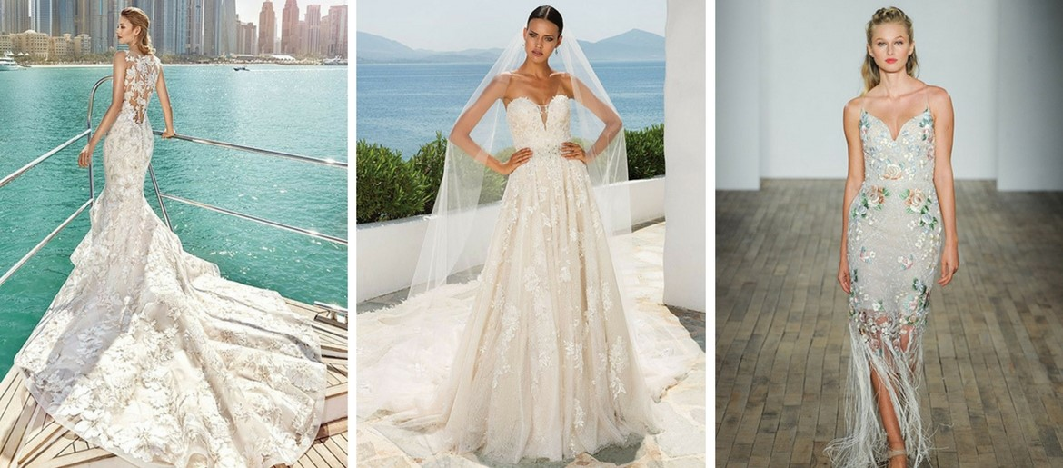 Your source for wedding planning ideas and advice for Nature inspired wedding dresses