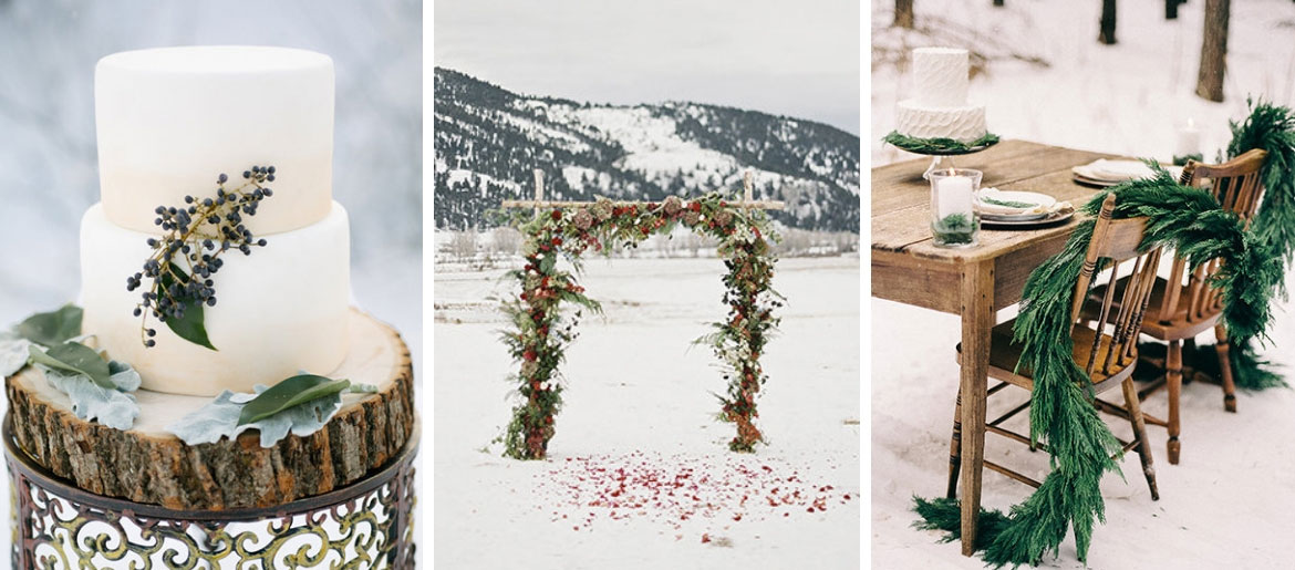 Winter Wedding Décor