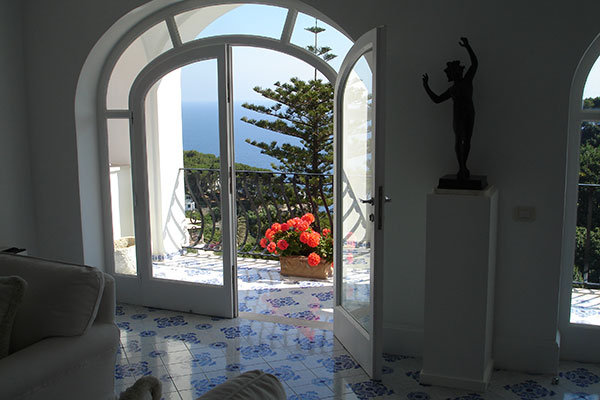La Minerva in Capri, Italy