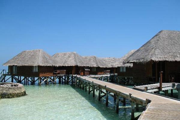 Veligandu Island Resort in North Ari Atoll, Maldives
