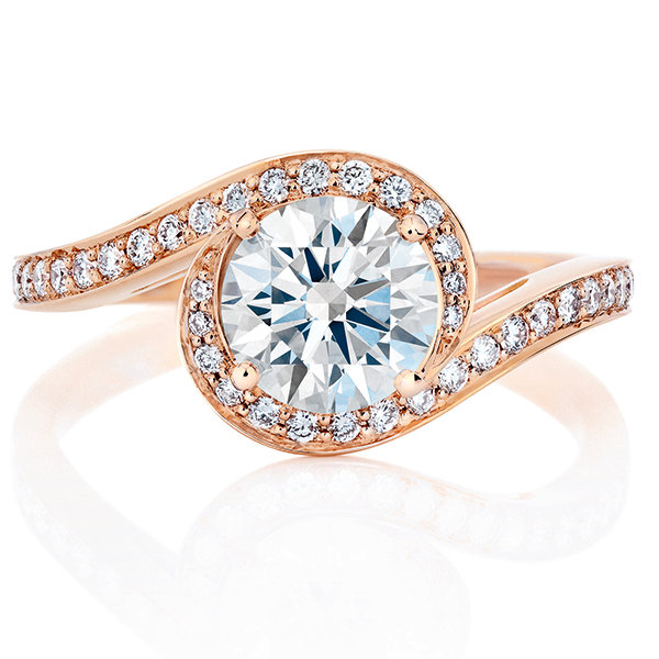 Pretty Diamond Rings 75 Of The Prettiest Engagement Rings Bridalguide