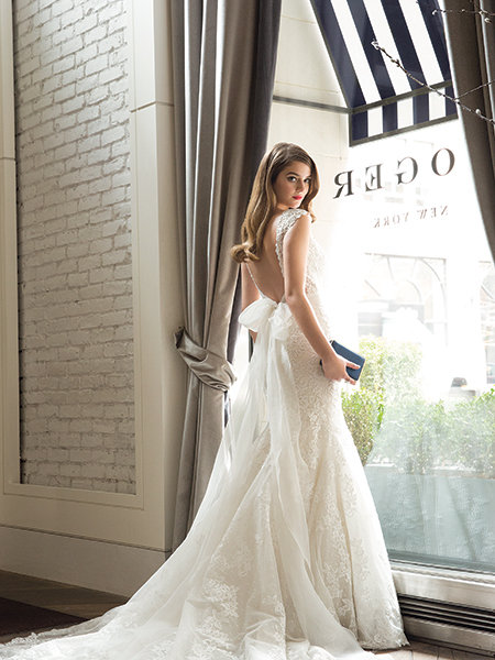 e6c012c52b Uptown Girl: Chic New Wedding Gowns | BridalGuide