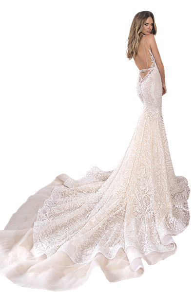 c29324337 7 Backless Wedding Dresses With Breathtaking Details | BridalGuide