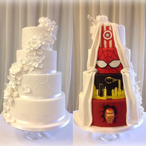 Steal worthy wedding cake designs bridalguide modern masterpieces junglespirit Gallery