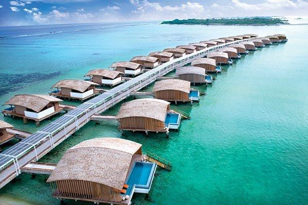 Gabrielle Union & Dwyane Wade: The Maldives