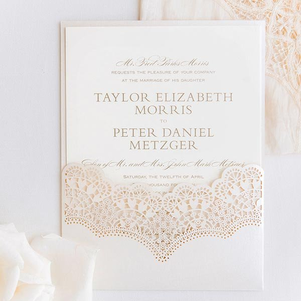 Wedding Card Craft Paper