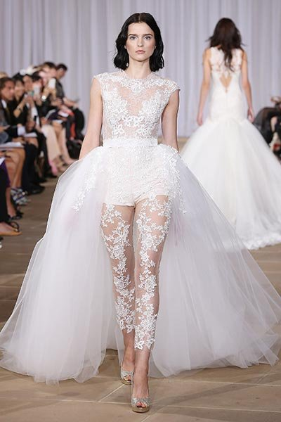 Risqué Wedding Gowns That Will Make You Blush