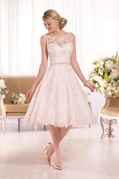 Top 20 short er wedding dresses bridalguide for Bridal dress for civil wedding