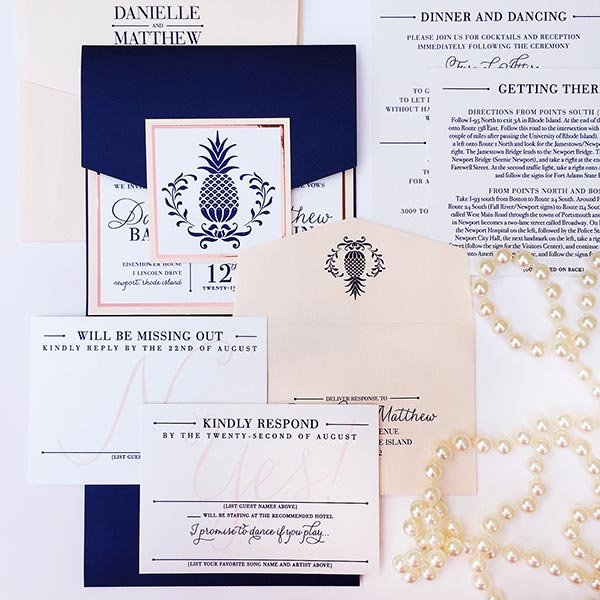Photo credit stevie ramos photography - 50 Ideas For Your Wedding Invitations Bridalguide