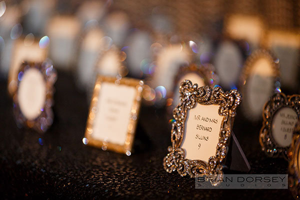 Framed Escort Card Displays