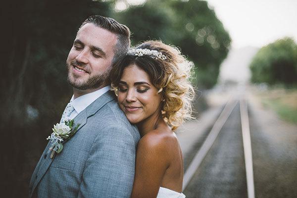Short Wedding Hairstyle