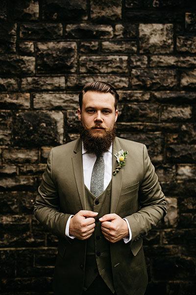 Beige Suit or Tux