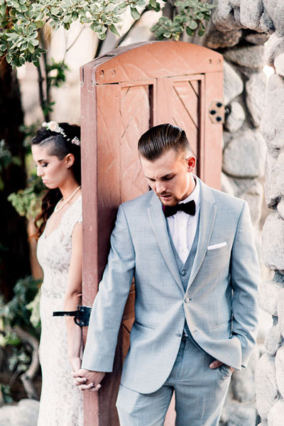 Gray Suit or Tux