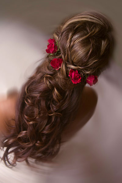 Fairy Tale Wedding Hairstyle