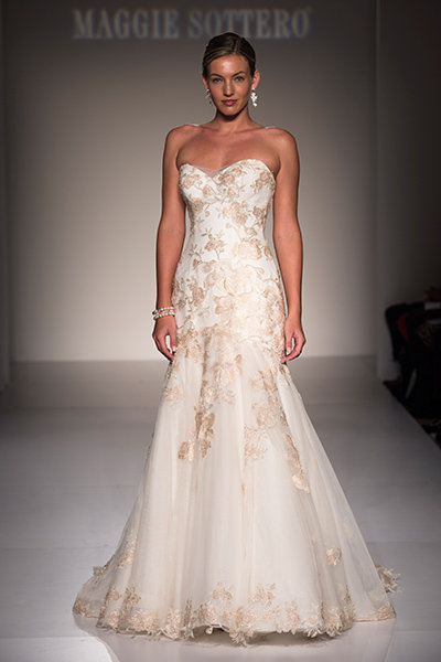 30 Romantic Dresses With Rose Gold Accents Bridalguide