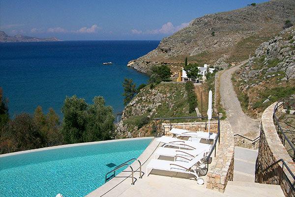 Lindos Blu in Lindos, Greece