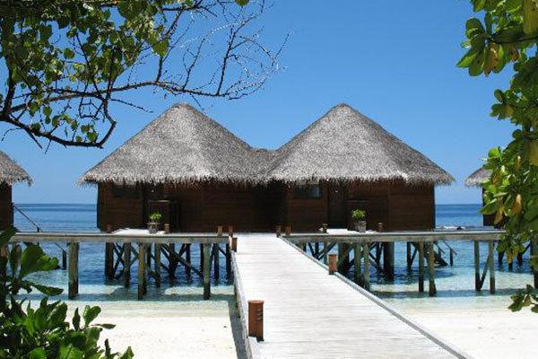 Mirihi Island Resort in South Ari Atoll, Maldives