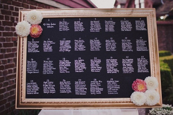 50 eye catching seating charts bridalguide