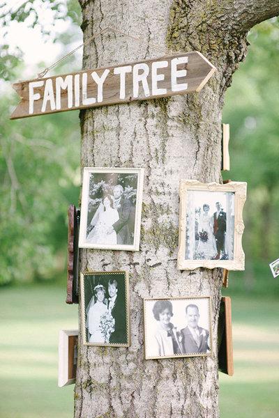 family tree decoration