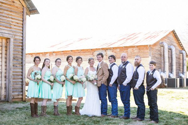Rustic Chic Wedding Dress Code