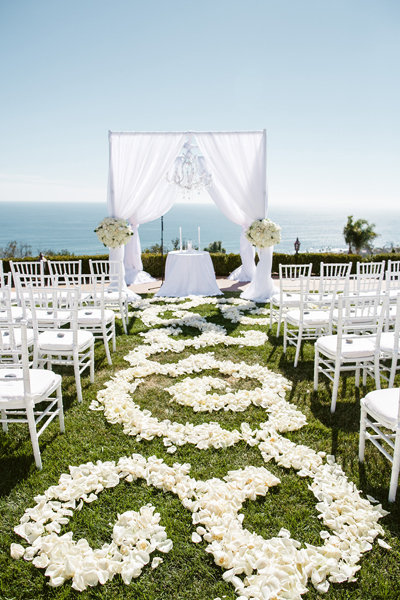 40 Ways To Decorate Your Ceremony Aisle Bridalguide