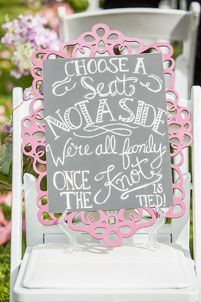50 Clever Signs Your Wedding Guests Will Love | BridalGuide