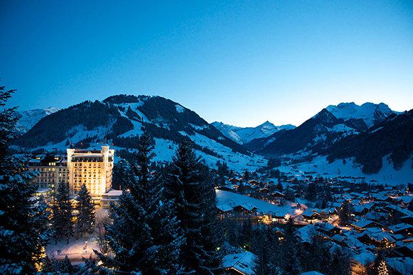 January: Swiss Alps, Switzerland