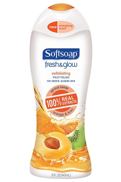 Softsoap Fresh & Glow Exfoliating Fruit Polish