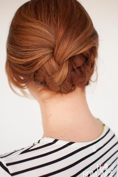 The Plaited Updo