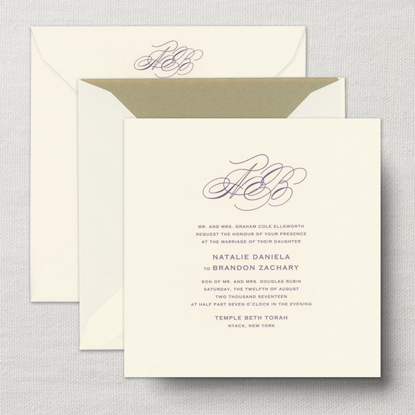 Wedding invitations by style find the right fit for your wedding traditional and formal filmwisefo