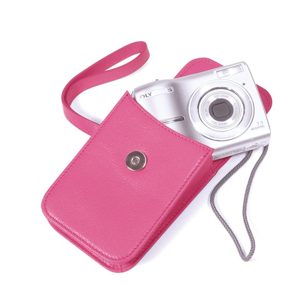 $50 and Under: Camera Case in Bright Leather