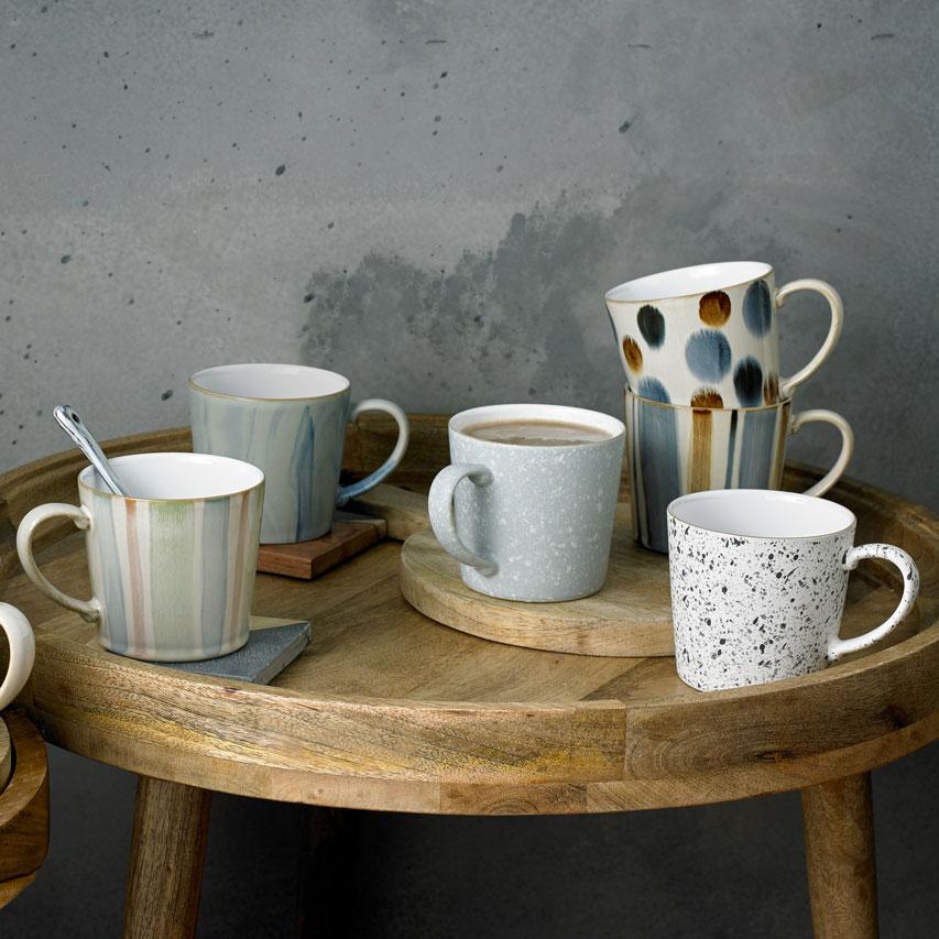 Denby: Handcrafted Mugs