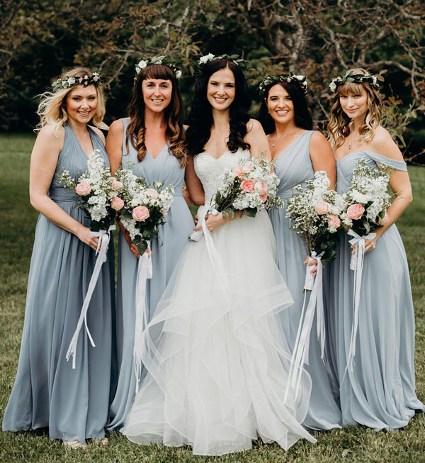 25 Gorgeous Spring Bridesmaid Dresses From Real Weddings
