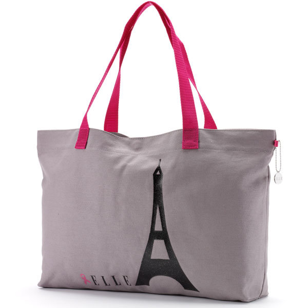 Honeymoon Necessities: Eiffel Tower Tote