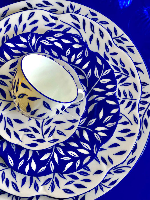 Royal Limoges: Olivier Blue