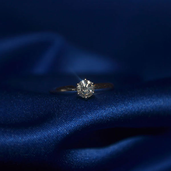 Classic Solitaire Engagement Ring From Helen Troy