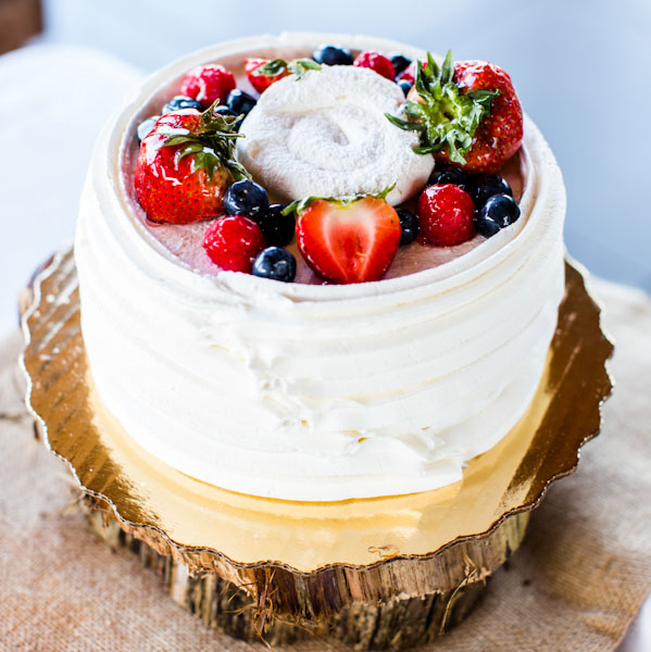 Topped With Fruit