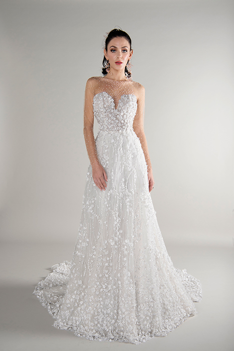 f2a2d3cd8ff 40+ Fancy Floral Wedding Gowns
