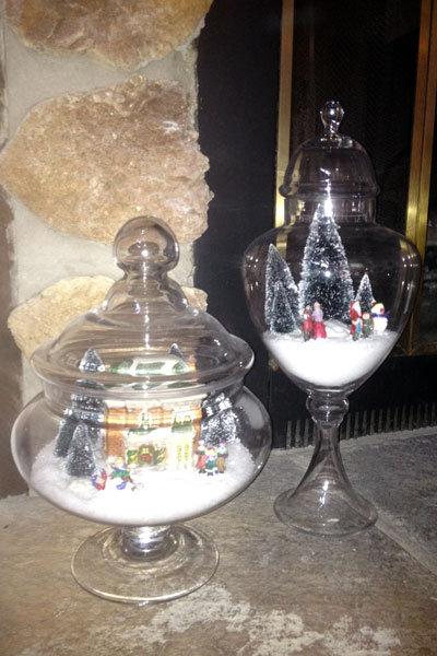 Apothecary Christmas Village