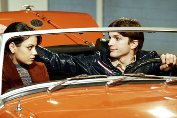 2. Mila Kunis and Ashton Kutcher
