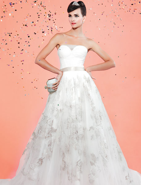 Be the belle of the ball in a princess gown bridalguide for David s bridal princess wedding dresses