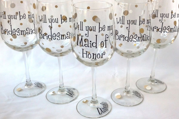 How to propose to your bridesmaids bridalguide for Waterfall design etsy