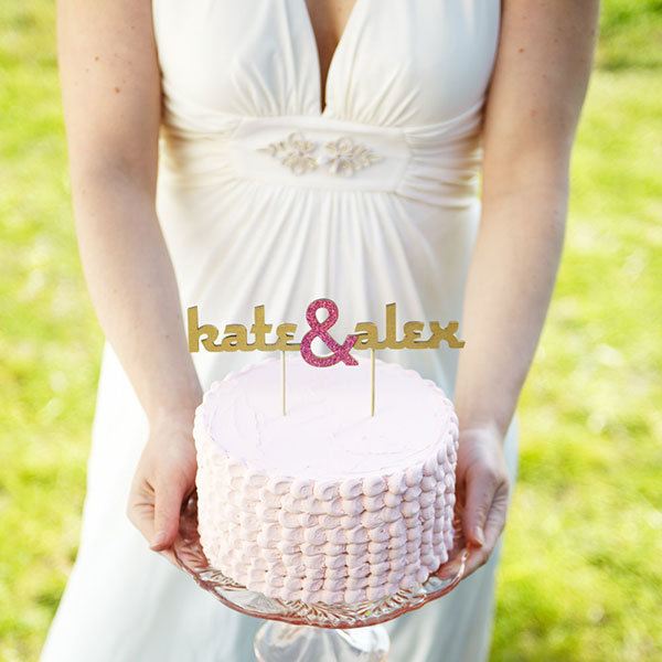 Customizable Cake Topper