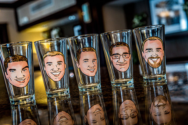 Custom Caricature Glasses