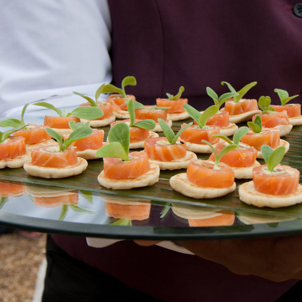 Wedding terms 101 bridalguide for Canape platters cape town