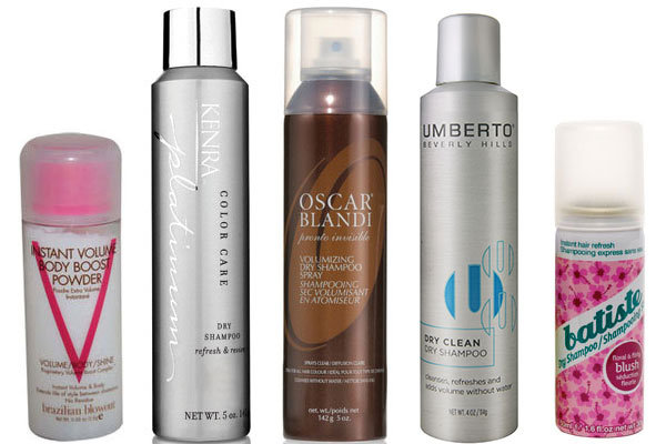 Hair Care: Dry Shampoos