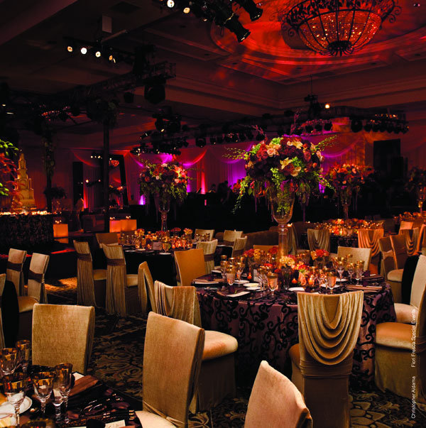 Purple And Red Wedding Ideas: Color Palette: Red, Purple, And Cream