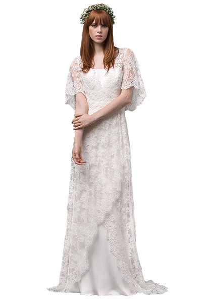 7 Boho Chic Floral Wedding Gowns