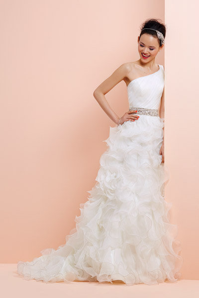 The New Frills Dramatic Wedding Gowns Bridalguide